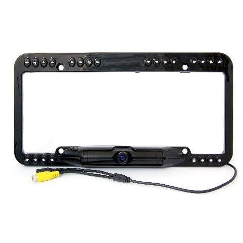 Автомобільна камера заднього виду GT S663 в рамці номерного знаку для США