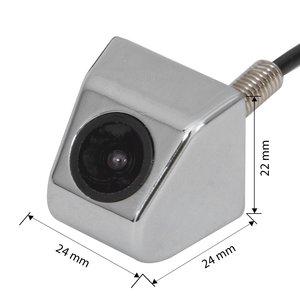 Універсальна автомобільна камера CS C0005 в хромованому корпусі