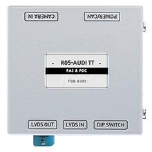 Адаптер для подключения камеры заднего вида в Audi TT c парковочными линиями - Краткое описание