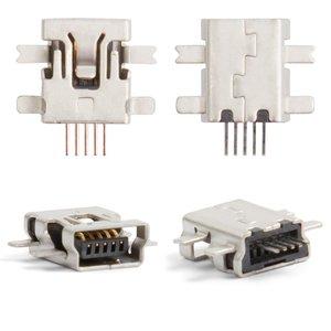 Charge Connector compatible with Motorola E2, E6, E8, L2, L6, L7, U6, V3, V3i, W5, (5 pin, mini-USB type-B)