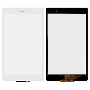 Touchscreen for Sony Xperia Tablet Z3 Compact Tablet, (white)