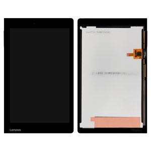 LCD for Lenovo Yoga Tablet 3-850F Tablet, (black, with touchscreen)