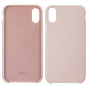 Case Baseus compatible with iPhone XR, (pink, Silk Touch) #WIAPIPH61-ASL04