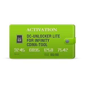 Activación DC-Unlocker Lite para Infinity CDMA-Tool