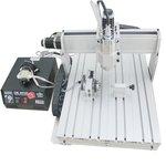 Máquina fresadora CNC de sobremesa de 4 ejes ChinaCNCzone 6040 (1500 W)