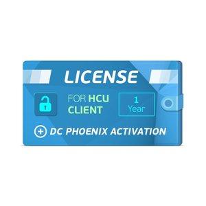 1-годовая лицензия клиента HCU + Активация DC Phoenix