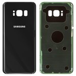 Задня панель корпуса для Samsung G950F Galaxy S8, G950FD Galaxy S8, чорна, Original (PRC), midnight black