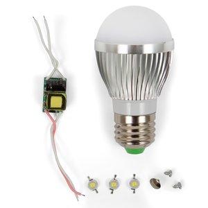 Комплект для сборки светодиодной лампы SQ-Q01 3 Вт (теплый белый, E27)