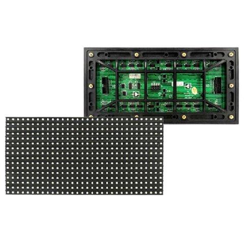 LED модуль для реклами P8 RGB SMD 256 × 128 мм, 32 × 16 точок, IP65, 6000 нт
