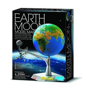 Конструктор 4M Макет Землі та Місяця